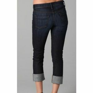 {Citizens of Humanity} Straight Leg Cropped Jeans